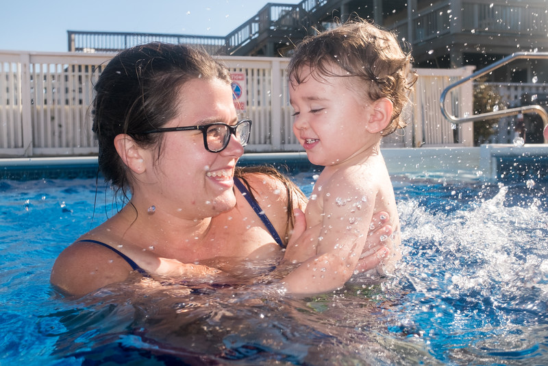 Pool-Holly and Caleb Splashing.jpg