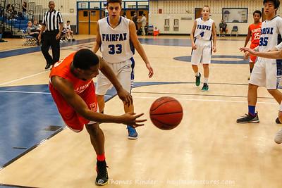 Boys Frosh Basketball vs Fairfax 1/31/17