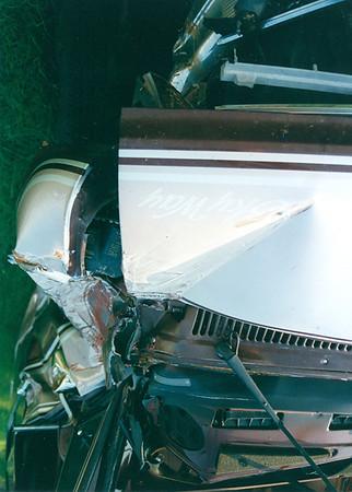 1996 Van  Wreck