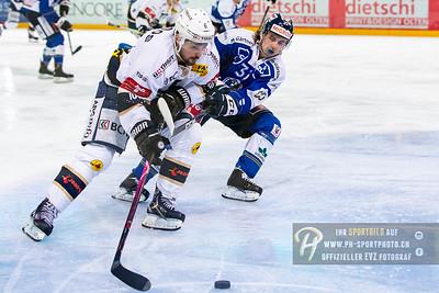 Playoff 1/4-Final (2): EVZ Academy - HC La Chaux-de-Fonds