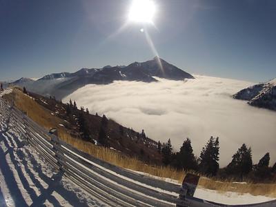 Skiing GoPro