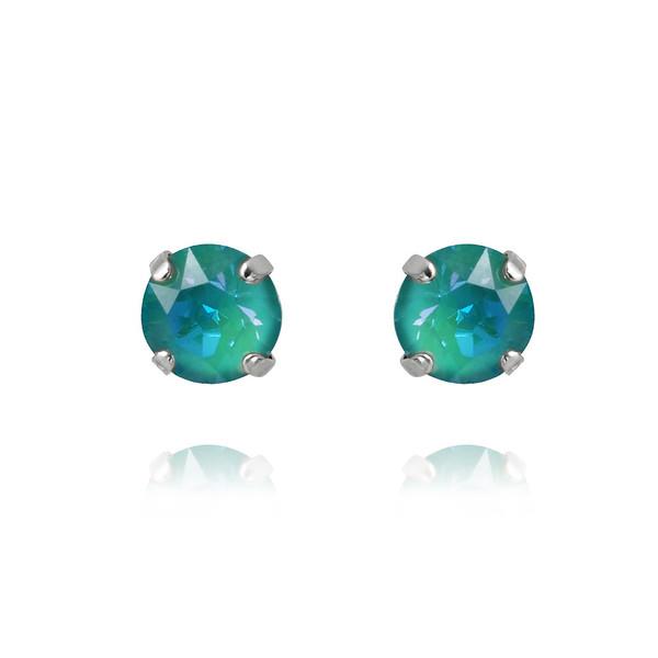 Petite Stud Earrings : Laguna Delite Rhodium.jpg