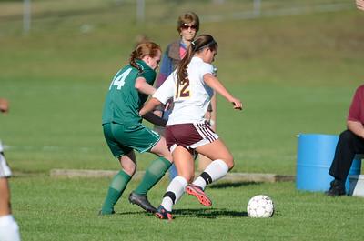 Shen at Colonie girls soccer
