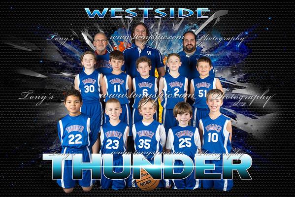 Westside Thunder Posters