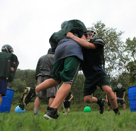 First Football Practice - WUHS