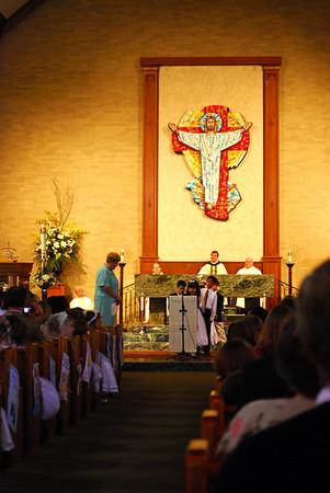 Bradley's First Communion