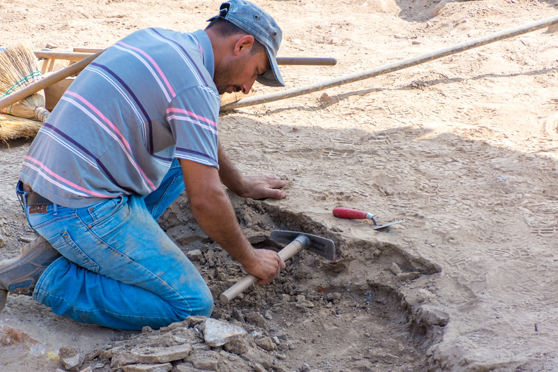 Excavation is ongoing