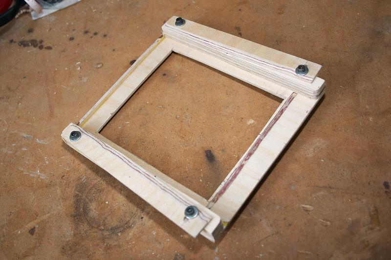 Film Holder mode -- second set of light traps installed