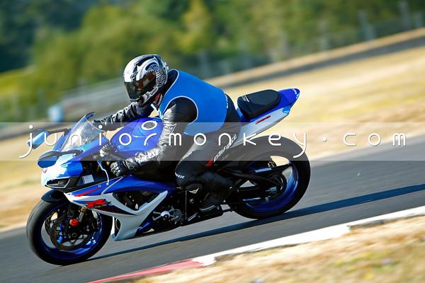 #5 - Blue White GSXR