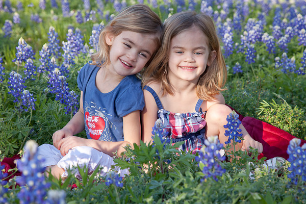 March 2012 Bluebonnets with Corinne