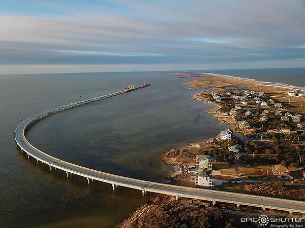 February 8, 2021 Jug Handle Bridge, Progress, Rodanthe, NC