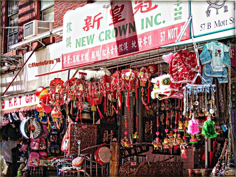 Joyful Jumble; Chinatown, NYC