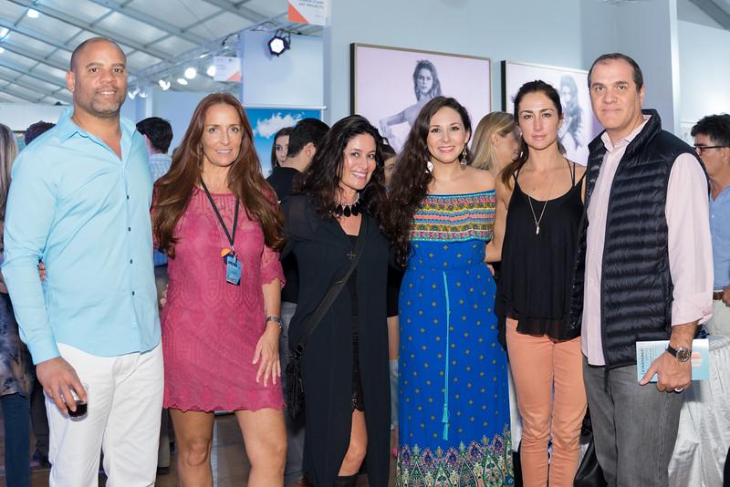 Fernando Morales, Isabel Brinck, María José Valdivieso, Barbar Intriago, Paula Sánchez, José Castro