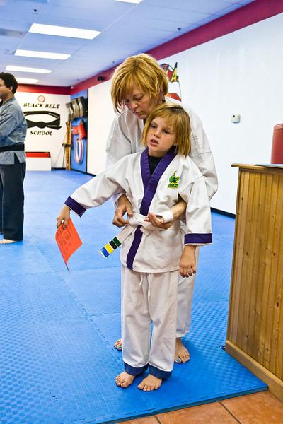 2009 September - Little Dragons Belt Pre Test
