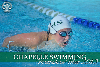 Chapelle Swimming - Northshore Meet 2013