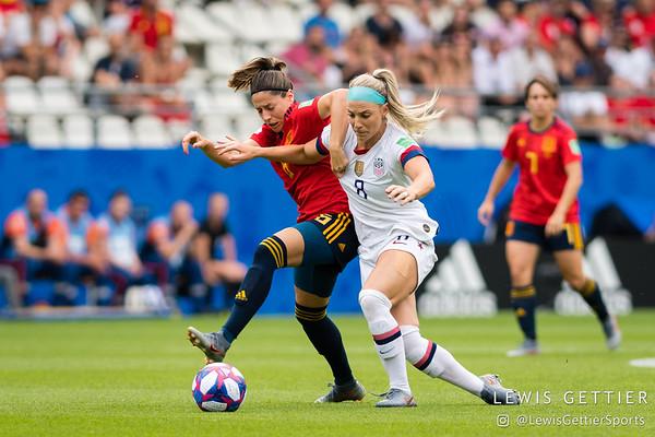 USWNT vs Spain 6-24-2019