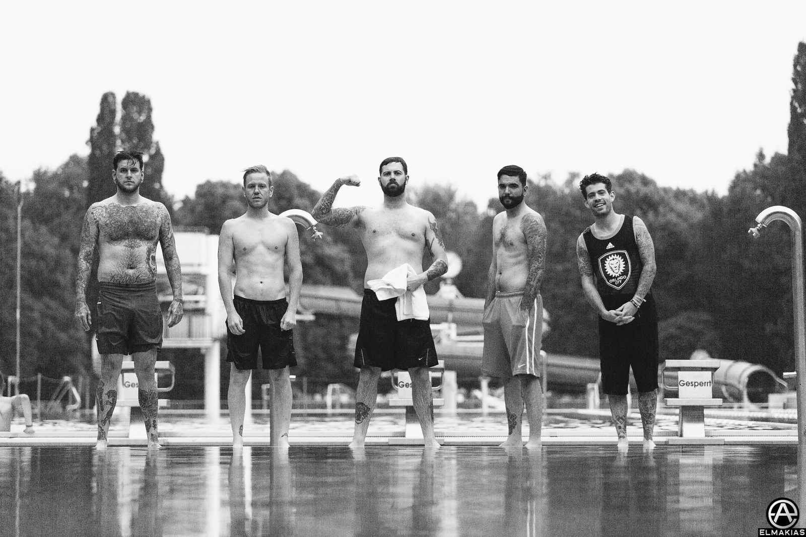 A Day To Remember swimming in Nuremberg