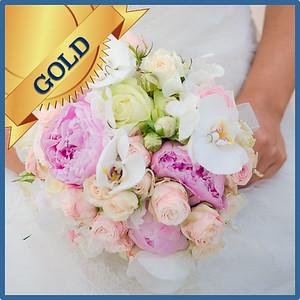 92104 Bridesbouquet Gold