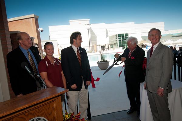 Panther Aquatic Center Dedication