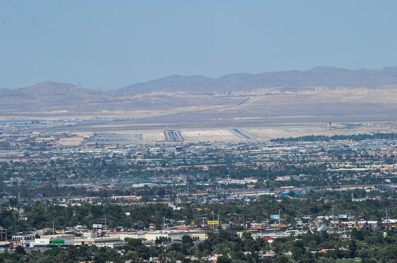 Runways at Nellis Air Force Base