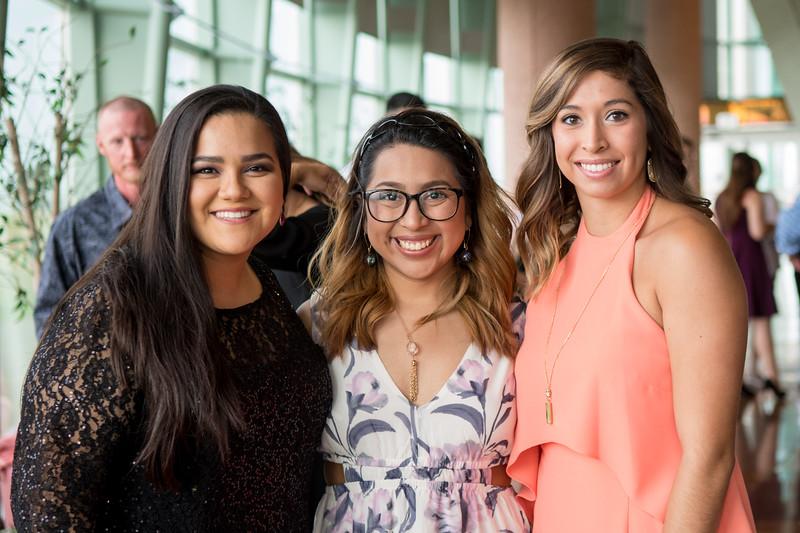 Amy Alonso (left), Jessica Facundo, and Valerie Salas.