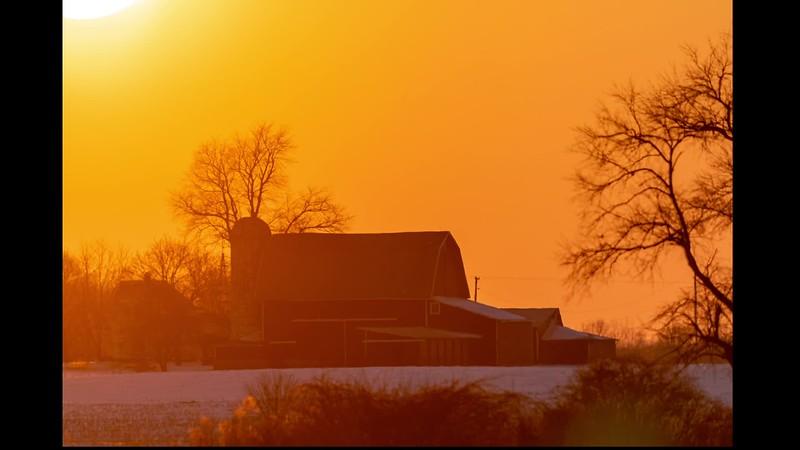 sunset at the Webber's Barn.mp4
