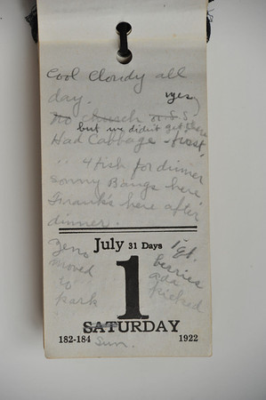 Day Book 1923 - July
