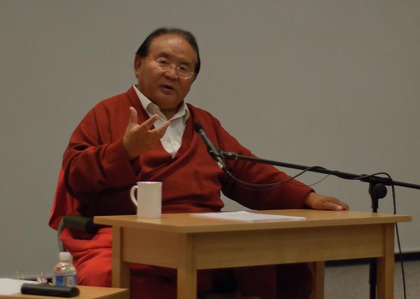 Sogyal Rinpoche Thursday