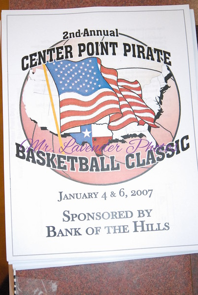 2nd Annual Center Point Pirate Basketball Classic