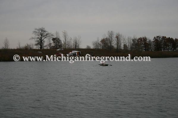 10/27/09 - Mason water rescue, Columbia Lake