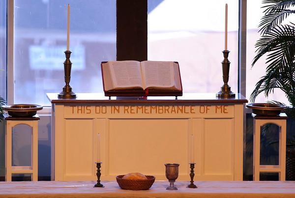 Florence United Methodist Church Maundy Thursday 4/1/10