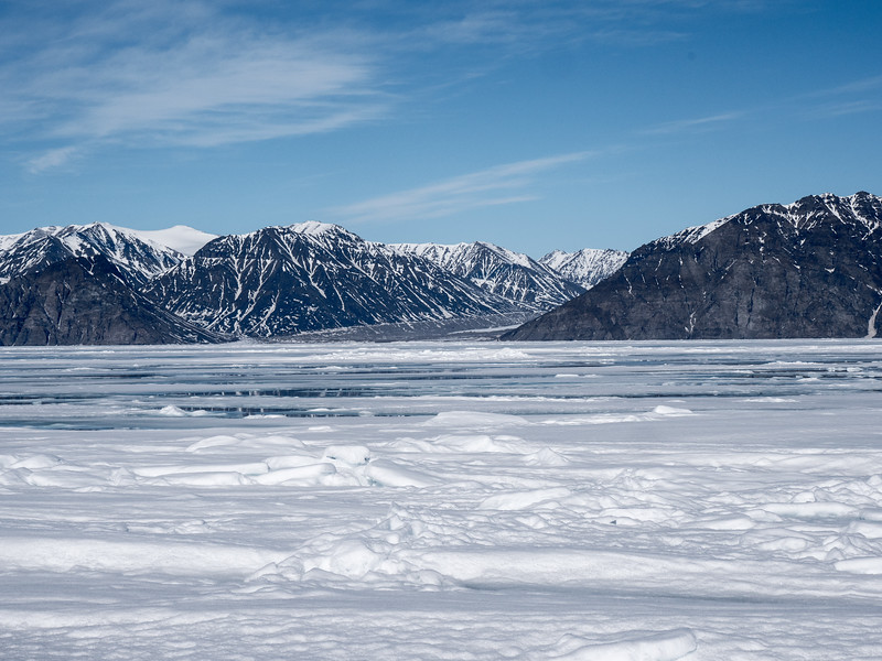 Glacier in recession