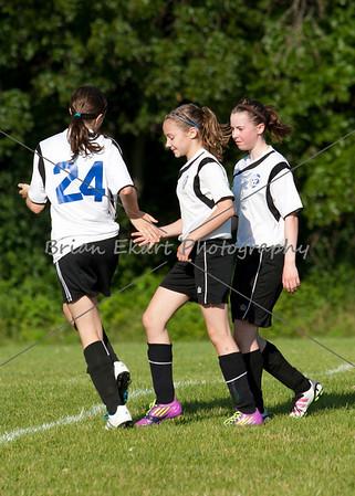 U13 Girls Soccer - SA vs Isanti - 7/9/12
