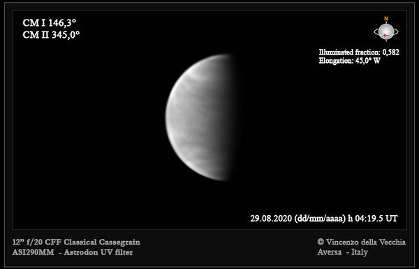 Venus Aug 29, 2020