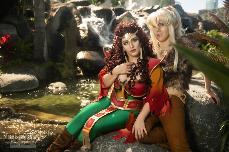 Elfquest Cutter and Leetah