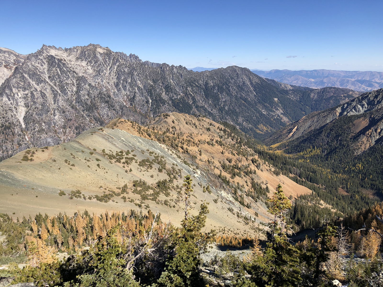 View from Navaho Peak