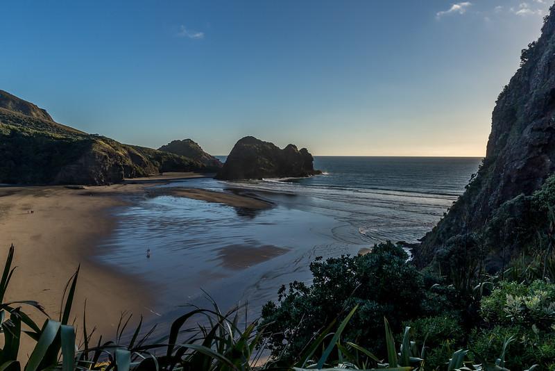 Die Piha Beach vom Lion´s Rock