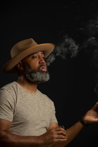 Smoke - Hat- Bourbon
