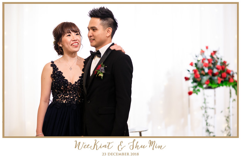 Wedding of Wee Kiat & Shu Min   © www.SRSLYPhotobooth.sg