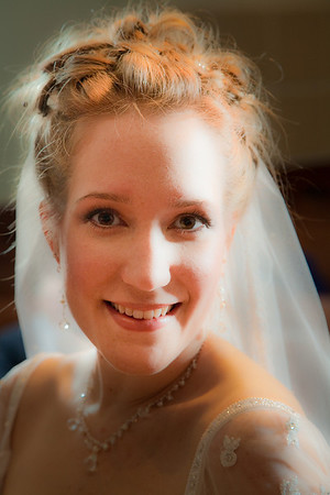 Bride before the Ceremony - Jang & Hannah
