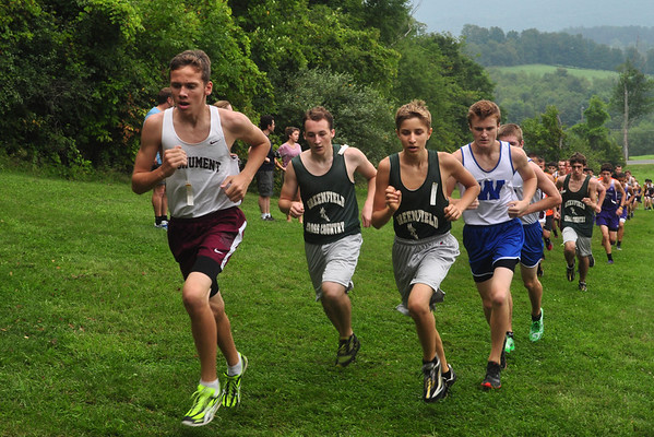 Cross Country Meet At Mount Greylock - 083113