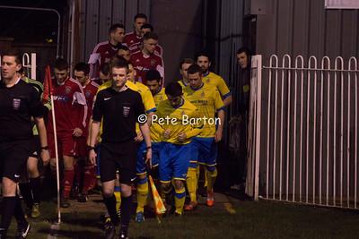 AFC Darwen 0 Ashton Athletic 0 - 24/2/16 - Abandoned Floodlight Failure