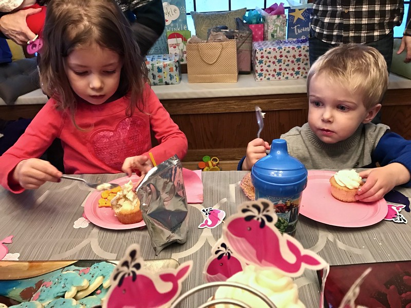 At Gemma's Birthday Party
