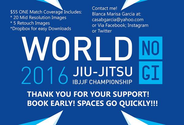 2016 IBJJF NOGI WORLDS
