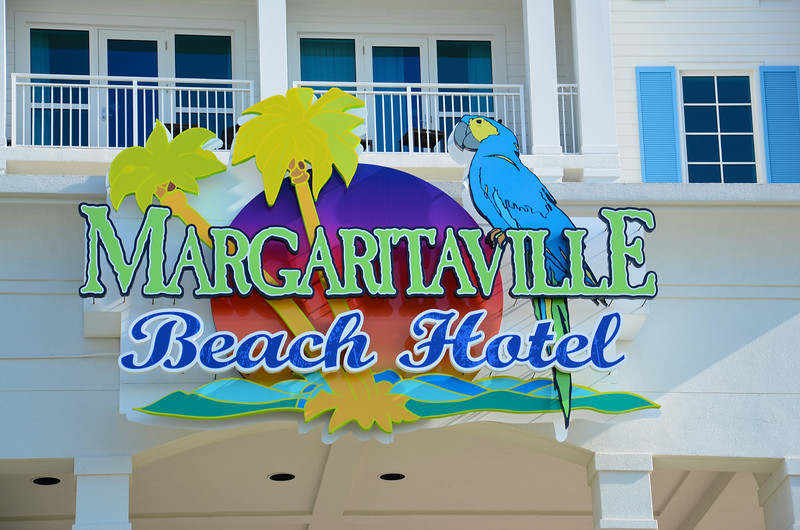 This Florida Panhandle trip that for us started in Key West has finally reached the western end of the state at Pensacola and as any good Jimmy Buffett fan would do, we stayed at the new Margaritaville Beach Hotel on Pensacola Beach.  Situated on 800' of gulf front beach property with 162 guest rooms, this is probably the best appointed hotel we have ever stayed at. And that's not just Parrot Head talk either.