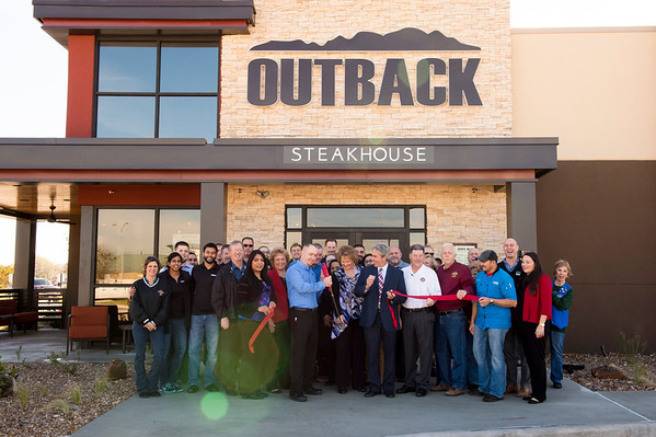 Outback Steakhouse Ribbon Cutting