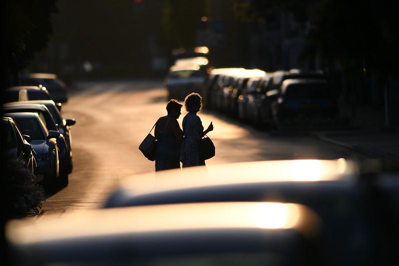 Sunrise in my street