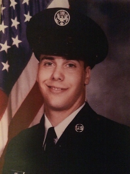 Rick Humes, U.S. Air Force staff sergeant, spouse of Darla Humes.