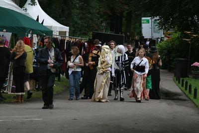 Foto's op het terrein zondag 3-8-2008