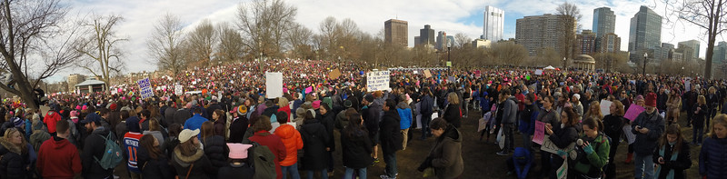 Boston Women's March 2017